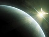 Artist's Concept of Epsilon Eridani, a Possible Habitable Planet Photographic Print by  Stocktrek Images