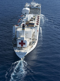 The Military Sealift Command Hospital Ship USNS Comfort Photographic Print by  Stocktrek Images