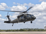 A Brazilian Air Force UH-60L Black Hawk at Natal Air Force Base, Brazil Photographic Print by  Stocktrek Images