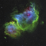 The Soul Nebula Photographic Print by  Stocktrek Images