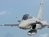 A Rafale B of the French Air Force in Flight over Brazil Photographic Print by  Stocktrek Images