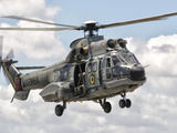 A Eurocopter AS332 Super Puma Helicopter of the Brazilian Navy Photographic Print by  Stocktrek Images
