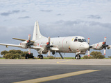 A Portuguese Air Force P-3C Cup Orion at Beja Air Base, Portugal Photographic Print by  Stocktrek Images