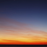 Conjunction of Venus, Mercury, Jupiter and Mars at Dawn Photographic Print by  Stocktrek Images