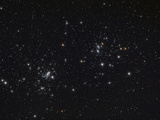 The Double Cluster in the Constellation Perseus Photographic Print by  Stocktrek Images