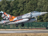 A French Air Force Mirage 2000 Lands on the Runway at Kleine Brogel Air Base, Belgium Photographic Print by  Stocktrek Images