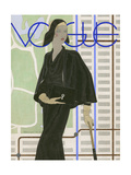 Vogue - April 1930 Gicleetryck av Pierre Mourgue