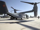 V-22 Osprey Tiltrotor Aircraft at Camp Bastion, Afghanistan Photographic Print by  Stocktrek Images