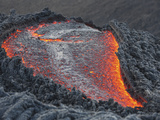 Lava Flow on the Flank of Pacaya Volcano, Guatemala Photographic Print by  Stocktrek Images
