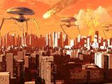 La guerra de los mundos Lámina fotográfica por Stocktrek Images,