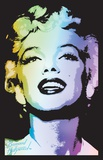 Marilyn Monroe Blacklight Photo