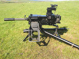 An MK19 40mm Machine Gun Photographic Print by  Stocktrek Images