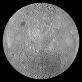 The Far Side of the Moon Photographic Print by  Stocktrek Images
