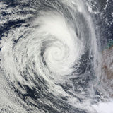 Tropical Cyclone Dianne Photographic Print by  Stocktrek Images
