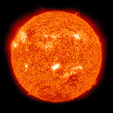 Solar Activity on the Sun Lmina fotogrfica por Stocktrek Images