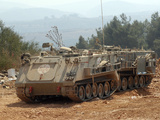 A M113 Armored Personnel Carrier of the Israel Defense Forces Photographic Print by  Stocktrek Images