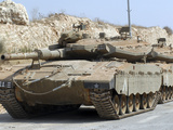 The Merkava Mark IV Main Battle Tank of the Israel Defense Force Photographic Print by  Stocktrek Images