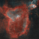 The Heart Nebula Photographic Print by  Stocktrek Images