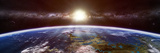 Artist's Concept of an Extraterrestrial Planet Reprodukcja zdjęcia autor Stocktrek Images