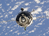 The Soyuz TMA-01M Spacecraft Photographic Print by  Stocktrek Images