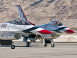 U.S. Air Force Thunderbirds on the Ramp at Nellis Air Force Base, Nevada Photographic Print by  Stocktrek Images