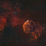 The Jellyfish Nebula Photographic Print by  Stocktrek Images