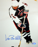 Lisa Miller 1998 US Womens Hockey Action Autographed Photo (Hand Signed Collectable) Fotografía