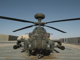 An Apache Helicopter at Camp Bastion, Afghanistan Photographic Print by  Stocktrek Images