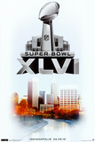 Super Bowl XLVI - Past Winners Posters