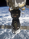 The Soyuz TMA-19 Spacecraft Docked to the Rassvet Mini-Research Module 1 Photographic Print by  Stocktrek Images