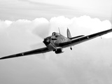 A Hawker Hurricane Aircraft in Flight Lámina fotográfica por Stocktrek Images