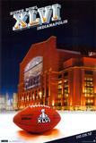 Super Bowl XLVI - Stadium Plakater