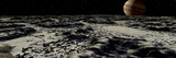 Jupiter's Moon, Europa, Covered by a Thick Crust of Ice Photographic Print by  Stocktrek Images