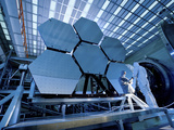 A James Webb Space Telescope Array Being Tested in the X-Ray and Cryogenic Facility Photographic Print by  Stocktrek Images