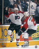 Jeremy Reonick Game Winning Goal Celebration Autographed Photo (Hand Signed Collectable) Photo