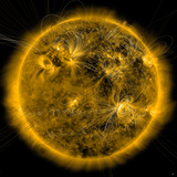 Magnetic Field Lines on the Sun Photographic Print by  Stocktrek Images