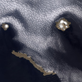 Satellite Image of Semisopochnoi Island in the Western Aleutian Islands of Alaska Photographic Print by  Stocktrek Images