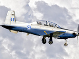 A Hellenic Air Force T-6 Texan II Prepares for Landing Photographic Print by  Stocktrek Images