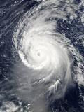 Hurricane Igor in the Atlantic Ocean Photographic Print by  Stocktrek Images