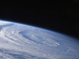 A High-Oblique View of the Extra-Tropical Unnamed Cyclone That Merged with Hurricane Earl Photographic Print by  Stocktrek Images