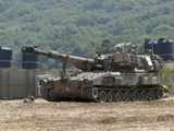 An M109 Self-Propelled Howitzer of the Israel Defense Forces Photographic Print by  Stocktrek Images