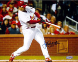 Jeff Suppan NLCS Game Three Photo Home Run Autographed Photo (Hand Signed Collectable) Photo