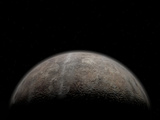 Artist's Concept of Pluto Photographic Print by  Stocktrek Images