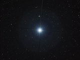 Rigel Is the Brightest Star in the Constellation Orion Photographic Print by  Stocktrek Images