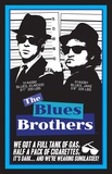 Blues Brothers Blacklight Prints