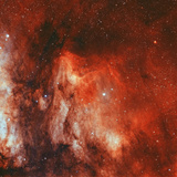 The Pelican Nebula Photographic Print by  Stocktrek Images