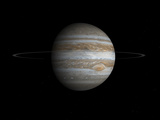 Artist&#39;s Concept of the Planet Jupiter Photographic Print by  Stocktrek Images