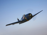 The Commemorative Air Force's F6F-5 Hellcat in Flight Photographic Print by  Stocktrek Images