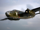 A North American B-25 Mitchell in Flight Photographic Print by  Stocktrek Images