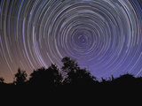 Circular Star Trails Taken from Alentejo, Portugal Photographic Print by  Stocktrek Images